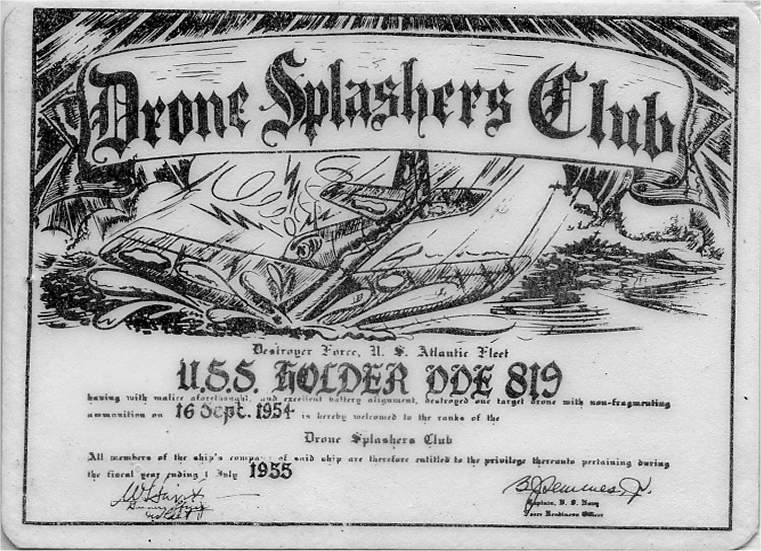 Drone Splashers Club card
