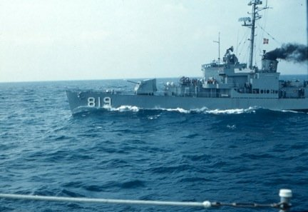 Photo -  DD-819 From USS New operations 1962