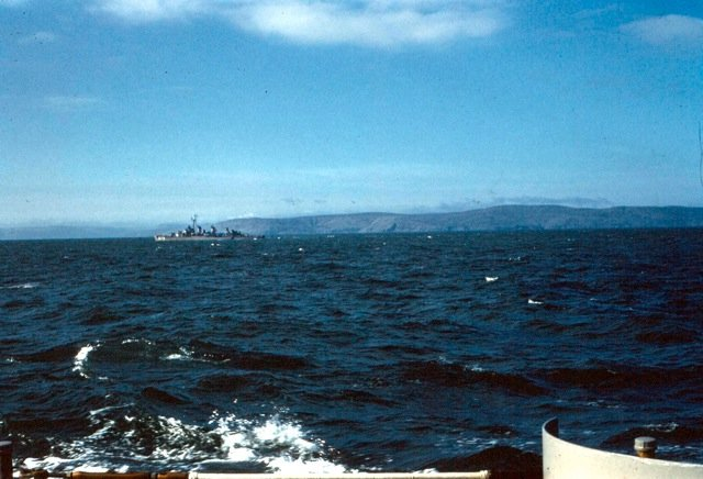 Photo - Scene From USS NEW at sea 1962