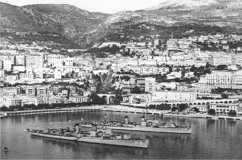 Photo - DD819, DD818 - Monaco 1951 Oct 21 to 26