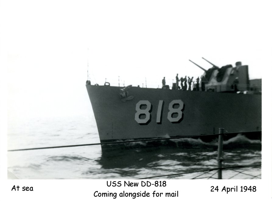 Photo - USS New DD-818