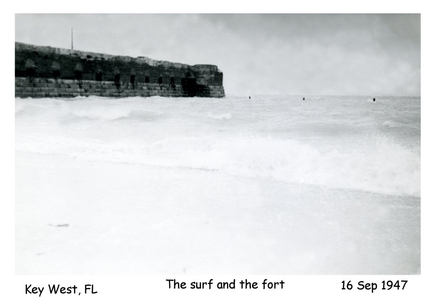 Photo - The surf and the fort