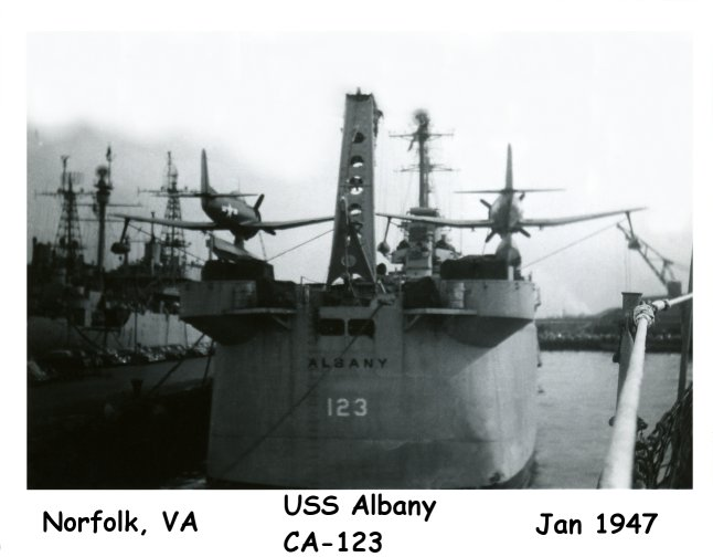 Photo - USS Albany CA-123