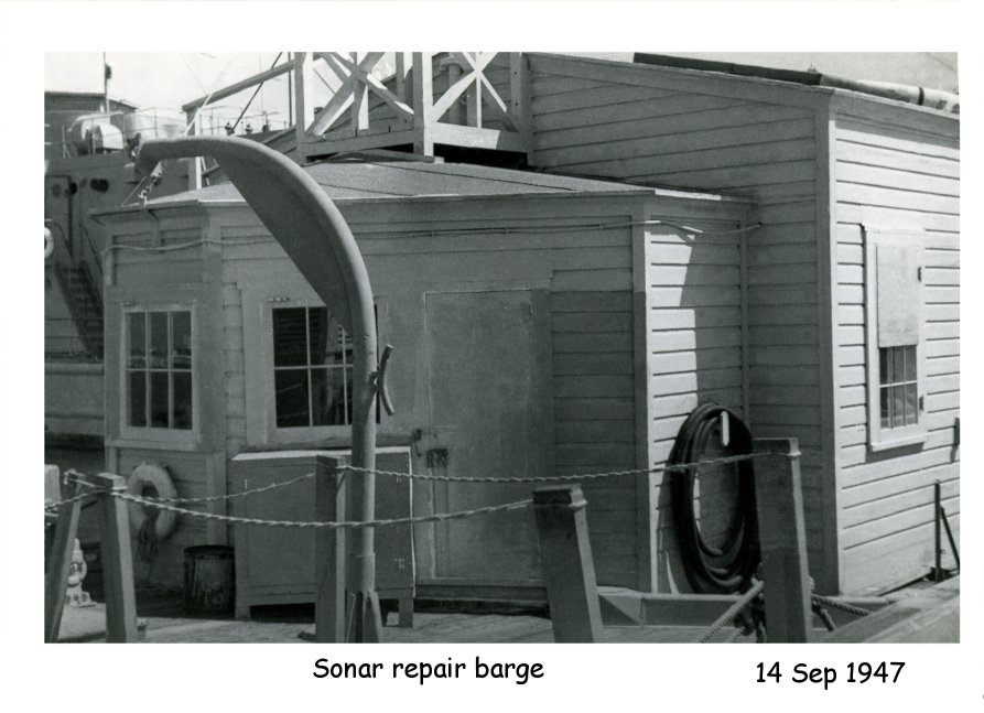 Photo - Sonar Repair Barge