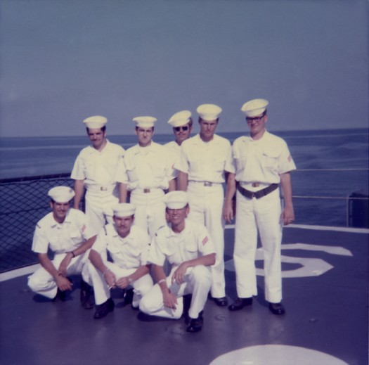 Photo - Sailors - Dash Deck