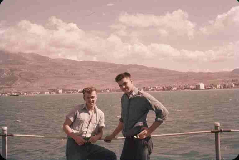 Photo - Hogan & Packy during the Med Cruise